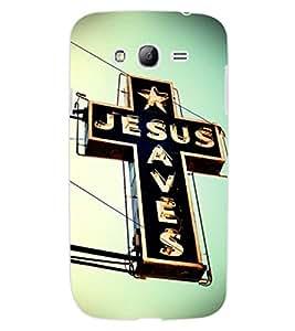 ColourCraft Jesus Cross Design Back Case Cover for SAMSUNG GALAXY GRAND NEO I9060