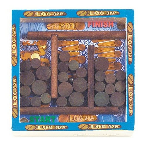 Melissa & Doug Log Jam Pocket Maze Puzzle - 1