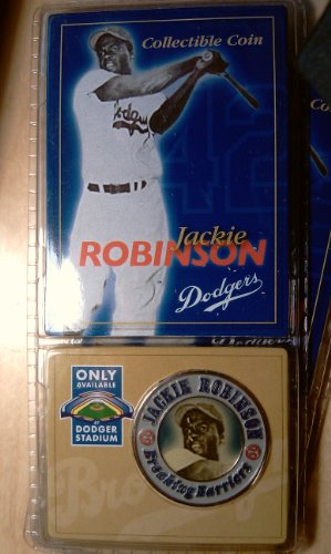 Dodger Jackie Robinson Breaking Barriers Collectible Coin