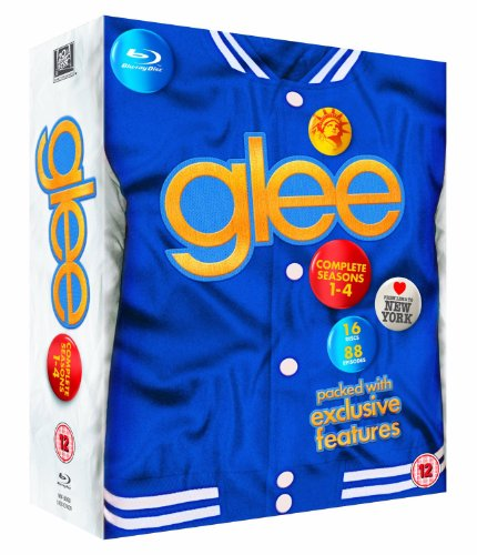 Sale alerts for  Glee - Season 1 - 2 - 3 - 4 Box Set [Blu-ray] [Region Free] - Covvet