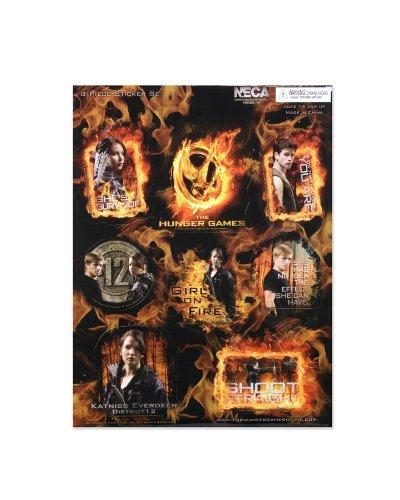 The Hunger Games Movie Sticker 8 pc. Sticker Set