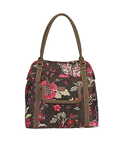 OILILY Tasche Shopper Brown PAISLY FLOWER in Größe 1