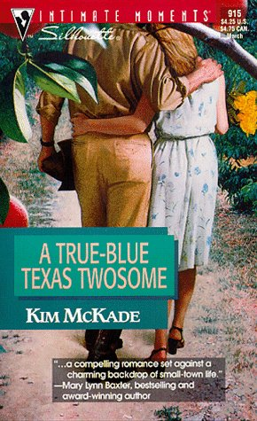 Image for True - Blue Texas Twosome (March Madness) (Silhouette Intimate Moments, 915)