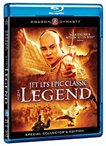 Jet Li's Epic Classic The Legend Blu-Ray Disc