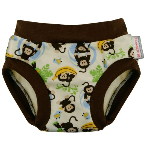 Blueberry Diapers Daytime Potty Training Pants (Small, Monsters) front-95317