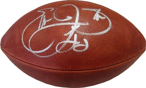 Emmitt Smith Autographed/Hand Signed Official Wilson NFL Football