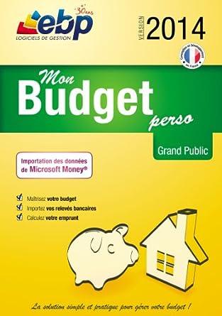 EBP Mon Budget Perso 2014 [Téléchargement]