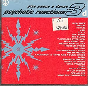 Give Peace A Dance, Volume 3: Psychotic Reactions