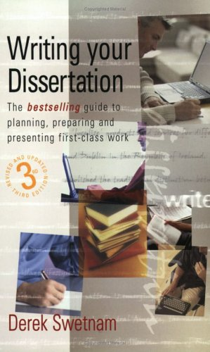 Publish your dissertation as a book