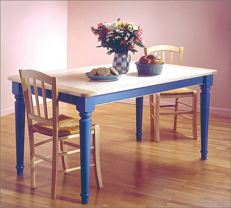 Myplan woodworking plans kitchen table - Wood kitchen table plans ...