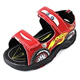 Disney Cars Boys Red Lighted Sport Sandals Shoes