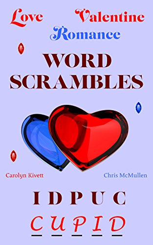 Valentine's Day word scrambles