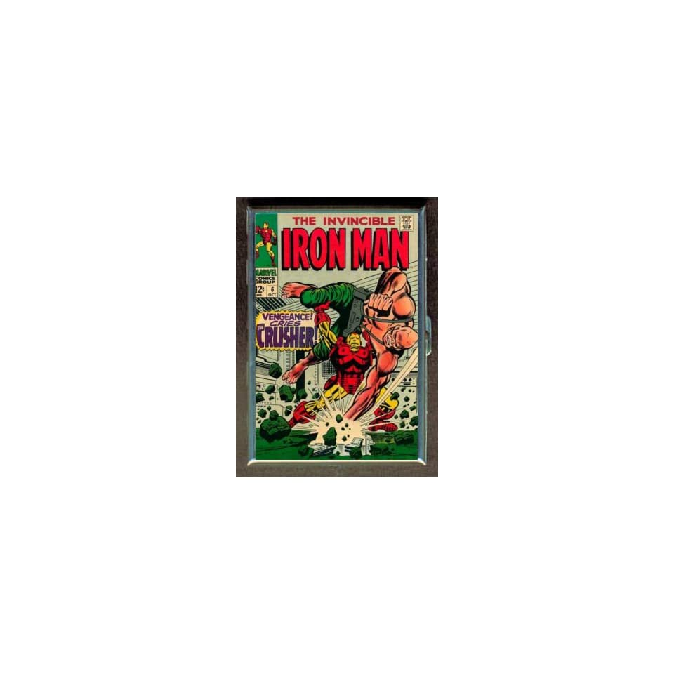 IRON MAN #6 1968 COMIC BOOK ID CIGARETTE CASE WALLET