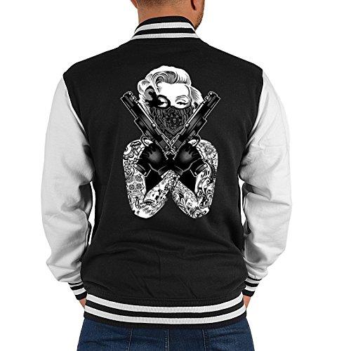 Goodman Design ® -  Giacca sportiva - Uomo nero L