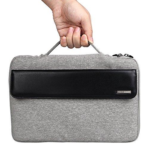 [ブランド良品]Surface pro 3 ケース、ESR Microfot Surface Pro 3 カバー スリップインタブレットケース ハンドル付き クッションスリーブ サーフェスプロ3 12インチ専用(ミステリアスブラック)
