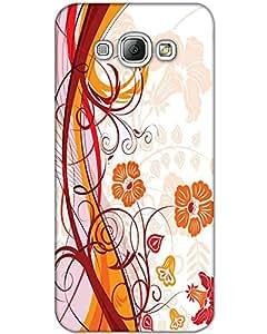MobileGabbar Samsung Galaxy A8 Back Cover Plastic Hard Case