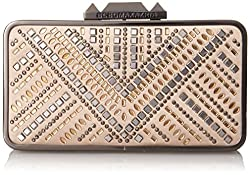 BCBG Hot Fix Embellished Clutch Evening Bag