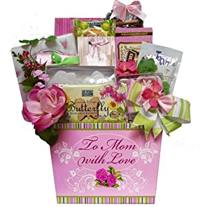Art of Appreciation Gift Baskets   To Mom with Love Tea and Cookie Basket