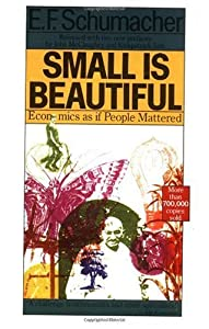 """Cover of """"Small Is Beautiful: Economics a..."""