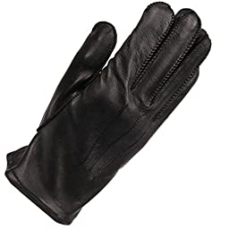 Wilsons Leather Mens H20 Leather Glove W/ Thinsulate Lining 2XL Black