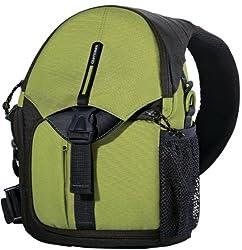 Vanguard BIIN 37 Sling Bag for DSLR Camera (Green)