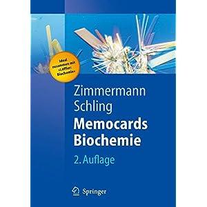 Memocards Biochemie: legen, lesen, lernen