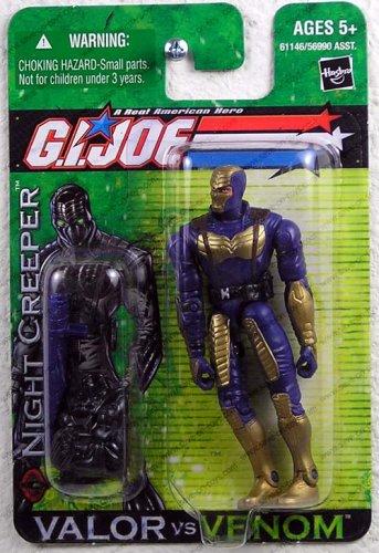 Buy Low Price Hasbro GI Joe A Real American Hero Valor vs Venom Night Creeper Action Figure (B000MTWUZW)