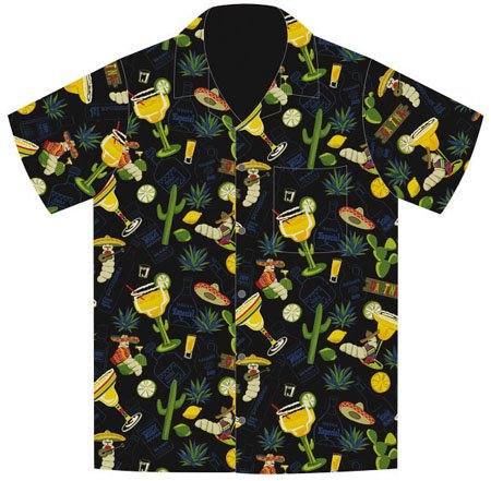 Cinco De Mayo Fiesta Margarita Tequila Hawaiian Shirt