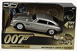 James Bond 50th Anniversary! Aston Martin DB5 - Motorised Light & Sound. Car size approx 15cm (Casino Royale)