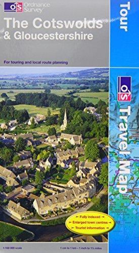 the-cotswolds-and-gloucestershire-os-travel-map-tour-map