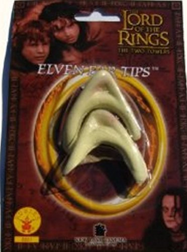 ADULT SIZED ELF ELVEN EAR TIPS - FROM THE MOVIE THE LORD OF THE RINGS