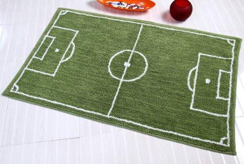 imut Geschäft Teppich Fußballfeld, Vorleger 60 x 100 cm