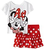 Disney Girls 2-6X Minnie 2 Piece Skooter Set