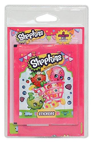 Topps - Sh250 - Shopkins - 8 Pochettes de 5 Stickers