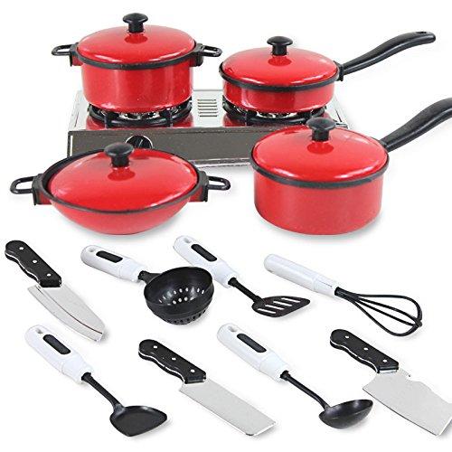 seguryy-13-set-mini-kitchen-cookware-pot-pan-pretend-cook-play-toy-utensils-for-kids-baby-children