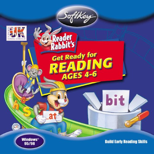 Reader Rabbit: Get Ready for Reading (ages 4+)