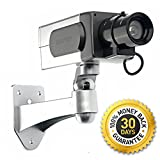Premium Dummy / Fake Security Camera - For People Who Want Security - But Don't Have the Budget! *FREE* E-book