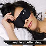 #1 Rated Dream Marker® ★ Anti-Aging ★ Anti Wrinkle ★ (Ultra Soft Silk) Premium Quality Sleep Mask - Contoured Eye Mask with Carry Pouch and Ear Plugs - Very Lightweight With Adjustable Velcro Strap - For Men, Women, Kids, Shift Work, Meditation & Travel, Insomnia or Quiet Natural Night Sleeping Mask