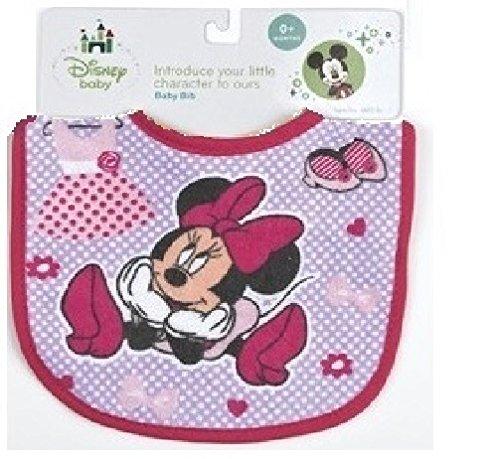 Minnie Mouse Terrycloth Bib - 1