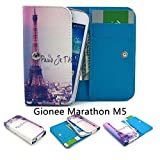 ZeWoo PU Leder Brieftasche für Gionee Marathon M5 (5.5