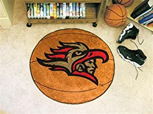 FANMATS NCAA San Diego State University Aztecs Nylon Face Basketball Rug by Fanmats