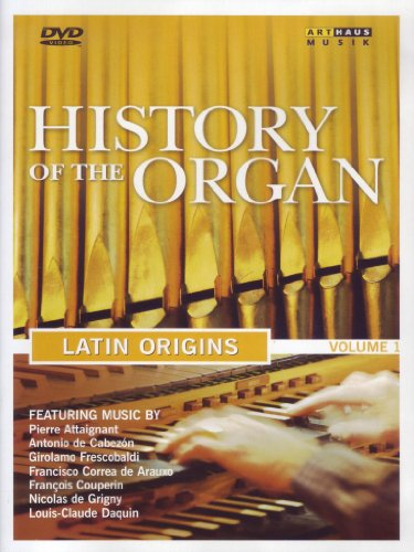 Cover art for  History of the Organ, Vol. 1: Latin Origins