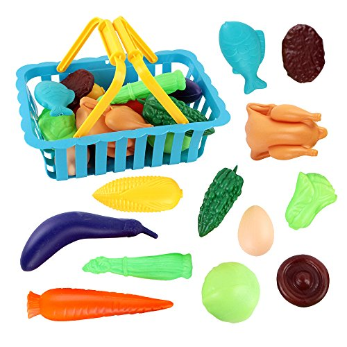 Shopping-Basket-Set-For-Children-With-12-Multi-colored-Healthy-Food-Choices