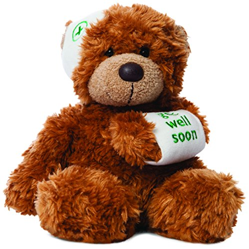 aurora-bears-9-inch-bonnie-get-well-bear-plush-dark-brown