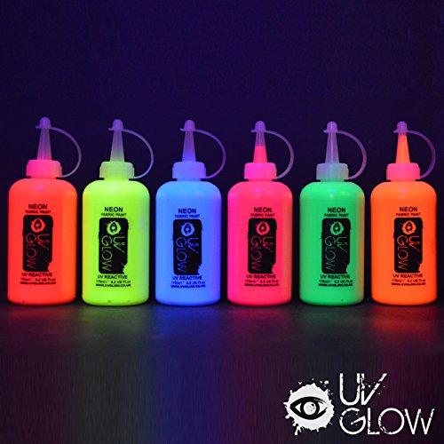 6-x-175ml-uv-stoffmalfarben-schwarzlicht-waschfest-textilmalfarben-textilfarben-t-shirt-kleidung-sto