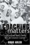 Coaching Matters: Leadership and Tact...
