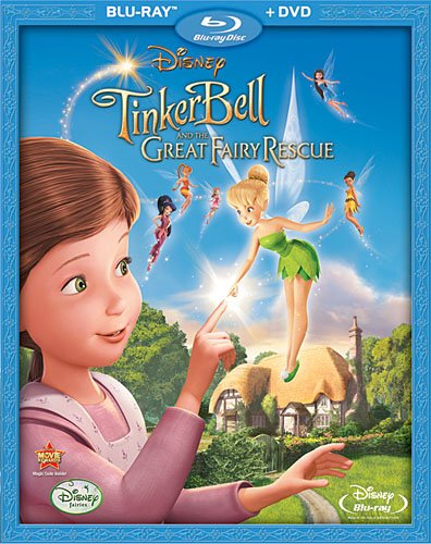 51X9AVtJPaL Tinker Bell and the Great Fairy Rescue: Blu ray & DVD Review