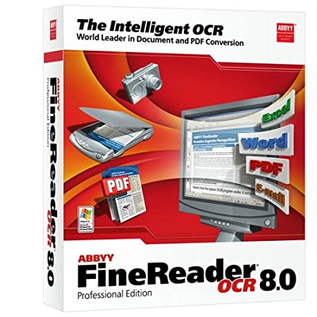 Abbyy Finereader 8.0 Professional Upgrade