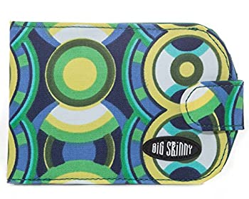 10. Big Skinny Women's Taxicat Bi-Fold Slim Wallet.