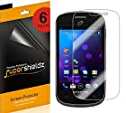 SUPERSHIELDZ- High Definition (HD) Clear Screen Protector For Samsung Galaxy Centura S738C (Straight Talk) + Lifetime Replacements Warranty [6-PACK] - Retail Packaging
